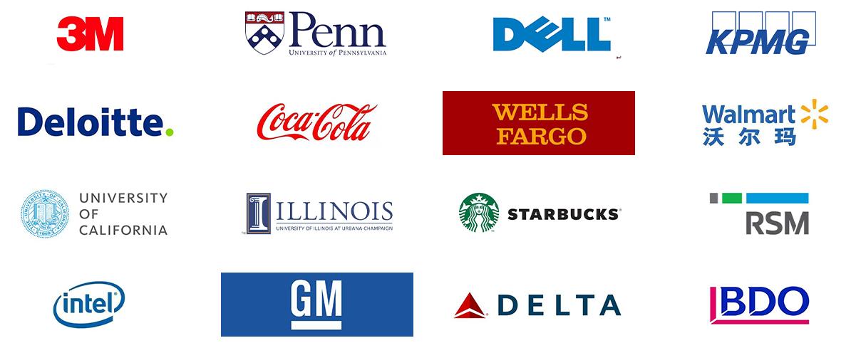 全球有超过2000家的知名企业、机构和高校选择Becker